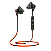 Wireless Sports Bluetooth Earphone Stereo Headphone Headset for Running Jog WQZY
