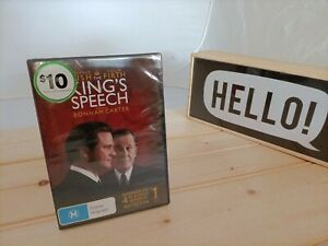 The King's Speech DVD New Sealed Free Postage !!