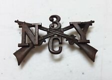 Spanish American Wars 3rd New York Infantry Regiment Company C Syracuse Pin