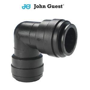 John Guest Schiebepassung Kupplung Winkelverbinder 6mm, 8mm, 10mm, 12mm, 15mm