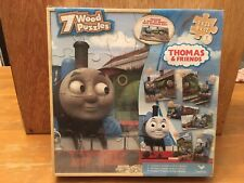 Thomas & Friends 7 Wooden Puzzles NIB New Ages 3 & Up Thomas The Train