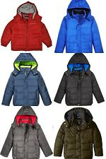 New Calvin Klein Boys Eclipse Puffer Jacket Size 2/3T, 4, 5-6, 7,8, 10-12, 14-16