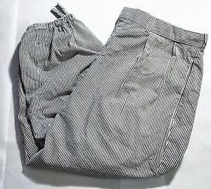 58-101 Rare Ralph Lauren Knickers Pant Pleated Seersucker Cropped size 36