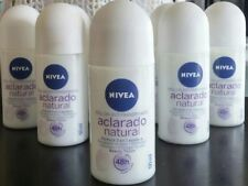6x Nivea Aclarado Natural Beauty Touch Roll On 48HR Proteccion 50ml