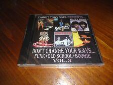Rabbit Town Soul - Don't Change Your Ways Vol. 3 CD Funk - OZONE MTUME AURRA
