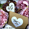 Throw Me confetti heart Stickers foil metallic Gold, Silver or Rose Gold Labels