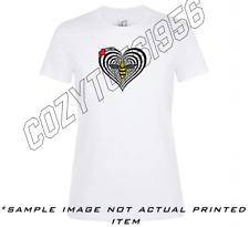 Manchester Bee Heart I Heart Repeat Mcr T Shirt Ladies