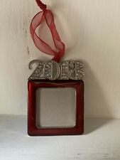 2013 Bling Christmas Tree Hanging Ornament Memory Wedding Birth Dating ❤️tw11j