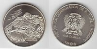 ST TOME PRINCIPE THOMAS - 1000 DOBRAS UNC COIN 1998 YEAR KM#92 GIRL & GOAT