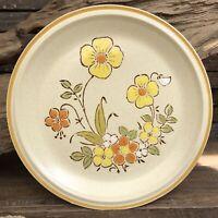 Hearthside Garden Festival Stoneware Sunshine Flower set of 2 Dinner plates EUC