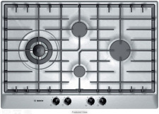 Bosch PCK755UC Stainless Steel Gas Cooktop, 30-Inch