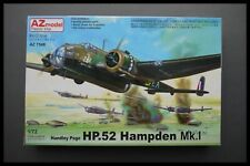Vintage AZ MODEL Handley Page HP.52 Hampden Mk.I 1/72 Scale Model Kit Sealed Bag