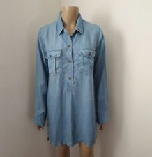 NWT Abercrombie Womens Chambray Shirt Dress Size Small