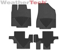 WeatherTech All-Weather Floor Mats for Pathfinder JX35 QX60 1st 2nd Row Black