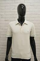 Polo Uomo STONE ISLAND Taglia S Maglia Camicia Shirt Man Manica Corta Bianco
