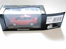 Audi RS 4 2005 in rot rouge rosso red metallic, Minichamps #400014600 1:43 boxed