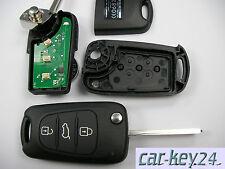Kia Venga Ceed Picanto Sorento Sportage Soul Carens 433 mhz Fernbedienung komple