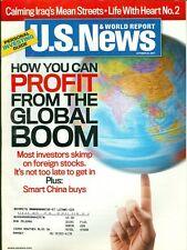 2007 U.S. News & World Report Magazine: Profit From the Global Boom/China Buys