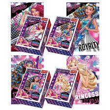 Trefl Mini 4 x 54 Pieces Kids Girls Barbie Rock & Royals Princess Jigsaw Puzzle