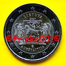 Litouwen - Lituanie - 2 euro 2020 comm.(Aukštaitija)