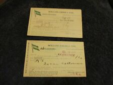 Holland America Line 1911 1915 New Amsterdam & Corredyk Freight Post Cards Ship