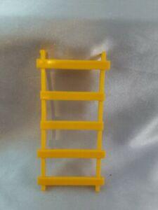 Vintage Fisher Price Little People Neighborhood #2551 Yellow Treehouse Ladder