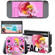 Super Princess Peach Nintendo Switch Consoles Joy-Con Vinyl Skins Stickers Decal