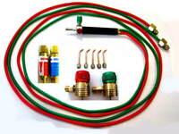 Jewelers Little Torch w/ Regulators, Flash Arrestors, 5 tips Smith TYPE