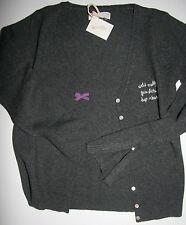 Odd Molly Jacke Strickjacke V-Neck Cardigan Dark Grey size:1(S) Neu