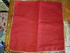 "Pottery Barn ""Textured Linen Hopsack"" 20"" Reversible Linen Pillow Cover"