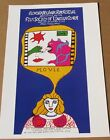 Niki De Saint Phalle Poster for Eleventh Annual Film Festival  1972 16X11  LC