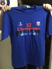 Blue 2xl Steaua T-shirt officially licensed UEFA Champions League