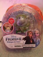 New! Troll Mini Figure From Disney's Frozen 2 Whisper & Glow! Lights Up W/ Wind!
