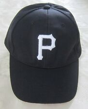 NEW BLACK WHITE PITTSBURGH PIRATES BASEBALL CAP HAT ADJUSTABLE