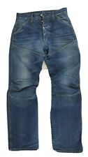 Men's G-Star Raw Distressed Button Fly Loose Denim Moto Jeans 5620 Size 29x32