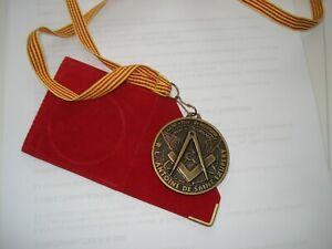 Franc - Maçonnerie - Médaille Saint-Exupery  - GLNF