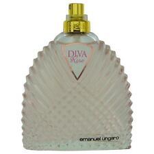 Diva Rose by Ungaro Eau de Parfum Spray 3.4 oz Tester