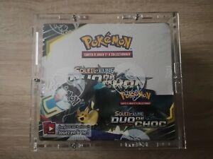 Display Pokémon Soleil et Lune Duo de Choc FR 36 boosters scellée + case
