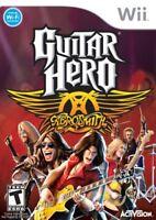 Guitar Hero: Aerosmith - Nintendo Wii Game - Brand New