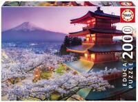 PUZZLE DE 2000 PIEZAS EDUCA 16775 MONTE FUJI JAPON - Educa 2000 Pieces Jigsaw