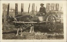 Black Americana Man in Ox Wagon Black Diamond Express Southern Pines NC dcn