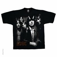 ACDC AC/DC HIGHWAY GROUP BAND COVER YOUNG CLASSIC ROCK MUSIC BLACK T SHIRT S-2XL