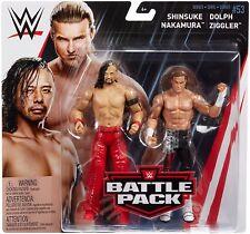 WWE Shinsuke Nakamura Dolph Ziggler Pack de lucha Serie 53 FIGURA DE LUCHA WWF