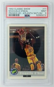 1992 Classic Draft Picks National Convention Promo Shaquille Oneal #11, PSA 9