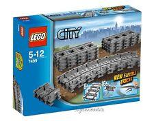 LEGO CITY - VÍAS FLEXIBLES Y RECTAS SET 7499 - NUEVO SIN ABRIR