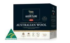 Tontine Golden Plains 550GSM Australian Downs Wool Super Warm Doona Duvet  Quilt