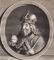 Portrait XVIIIe Louis IV Louis De Bavière Empereur Du Saint Empire Ludwig IV.
