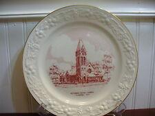 1952 Homer Laughlin Reformed Dutch Church Flushing New York Plate