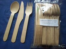 Wooden Cutlery -Picnic Pack x 36 pieces