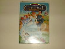 Disneys CINDERELLA II 2 DREAMS COME TRUE Movie DVD Vault Original 1st ISSUE 2002